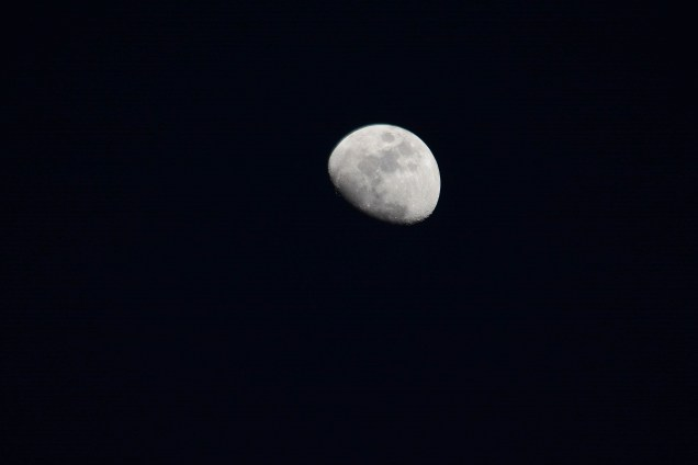 Waxing gibbous -- I paid attention in astronomy class :)