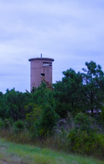 WWII Watch Tower. My favorite little sight to see while at the beach